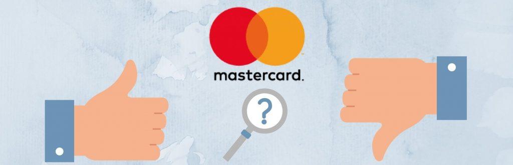 Mastercard: Prednosti i Mane