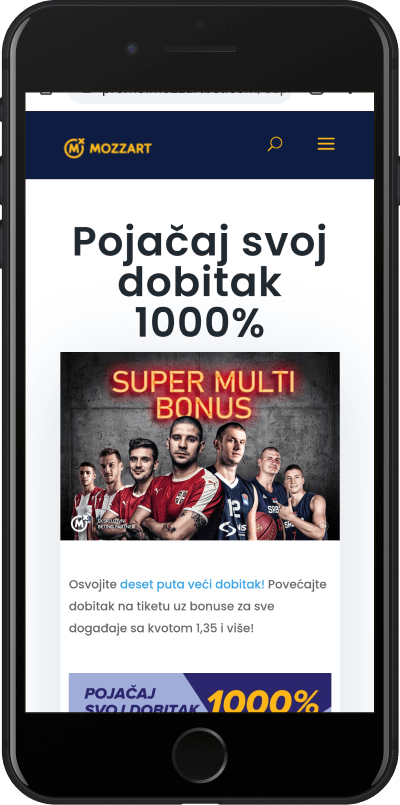 Mozzart bonus